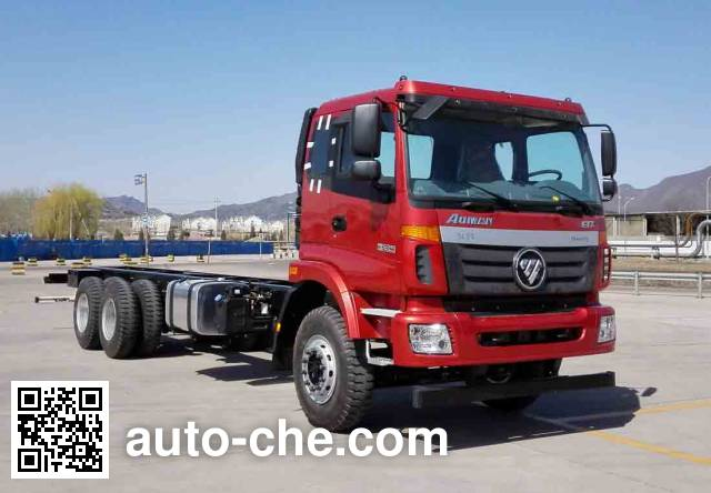 Foton Auman BJ5252JSQ-AA шасси грузовика с краном-манипулятором (КМУ)