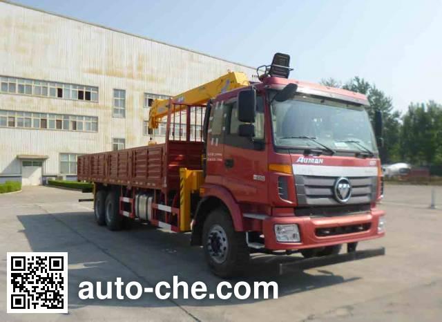 Foton Auman BJ5252JSQ-AA truck mounted loader crane