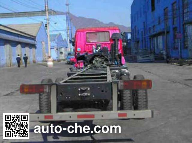 Foton Auman BJ5252JSQ-XA шасси грузовика с краном-манипулятором (КМУ)