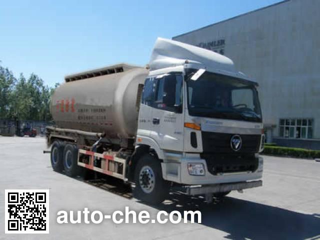 欧曼牌BJ5253GGH-XA干混砂浆运输车