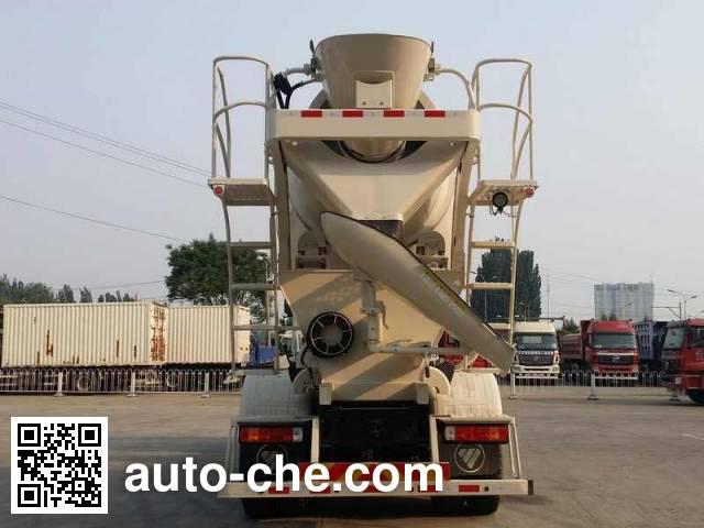 欧曼牌BJ5253GJB-XA混凝土搅拌运输车