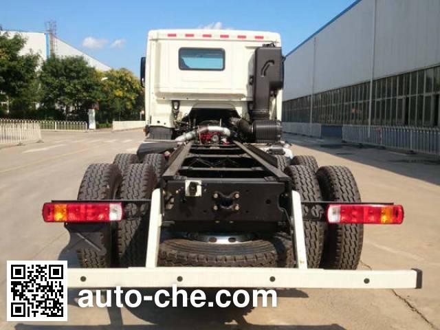 Foton Auman BJ5259GJB-AC concrete mixer truck chassis
