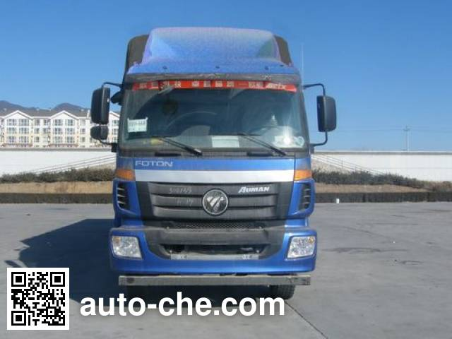 Foton Auman BJ5302CPY-2 soft top box van truck