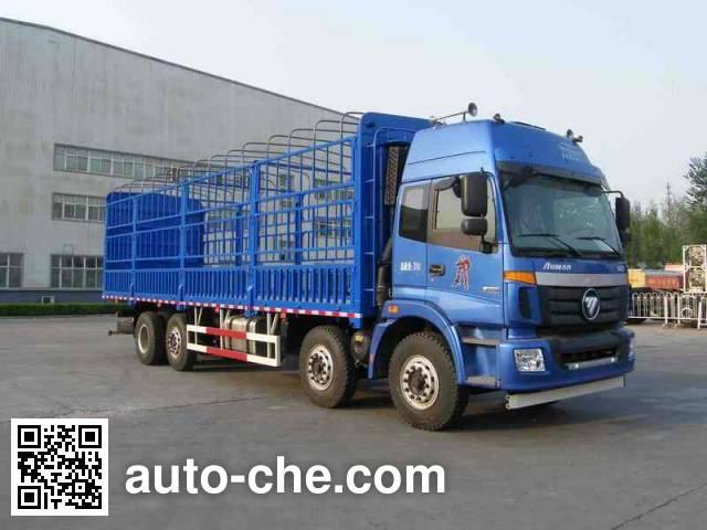 Foton Auman BJ5312CCQ-XB livestock transport truck