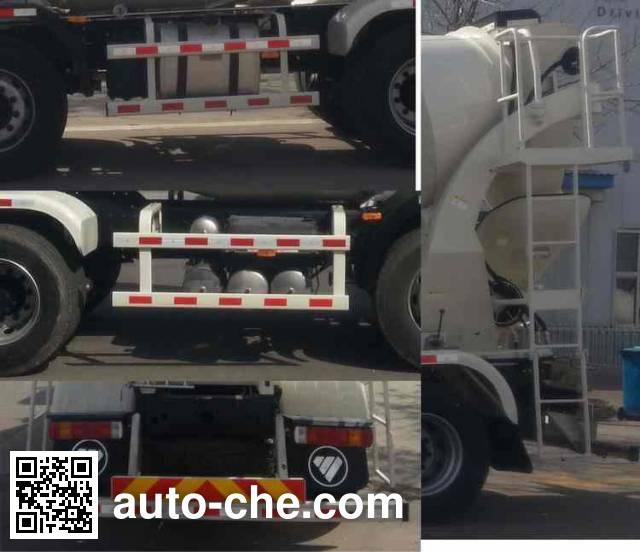 Foton Auman BJ5312GJB-XB concrete mixer truck