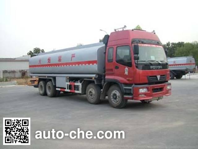 Foton Auman BJ5319GHY chemical liquid tank truck