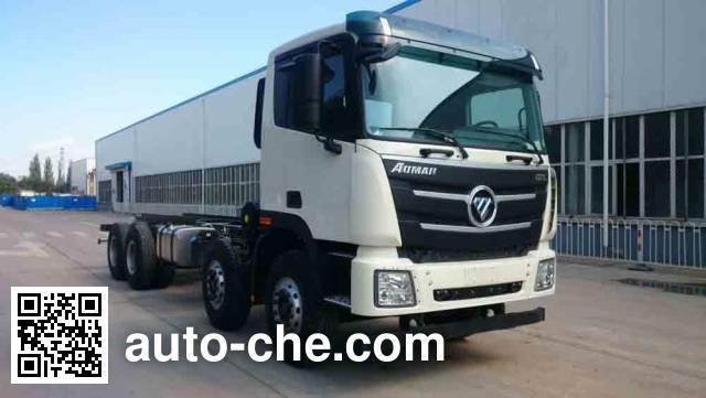 Foton Auman BJ5319GJB-AA concrete mixer truck chassis