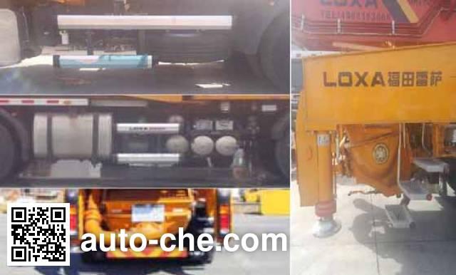 Foton BJ5439THB-XA concrete pump truck