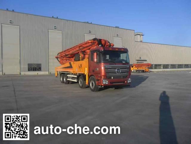 Foton BJ5449THB-XD concrete pump truck