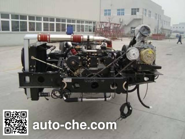 Foton BJ6113PHEVDA-1 hybrid bus chassis