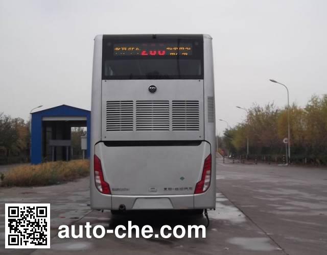 Foton BJ6128SHEVCA-1 hybrid double decker city bus