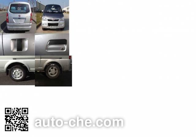 BAIC BAW BJ6400V3R4-CNG dual-fuel MPV
