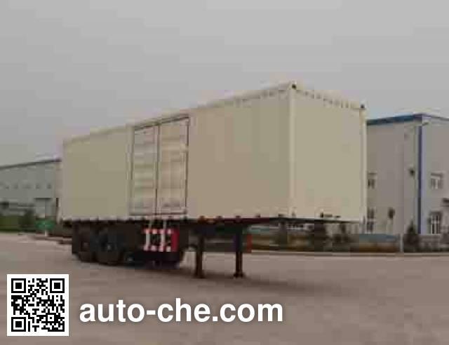 Foton BJ9271N8X7J box body van trailer
