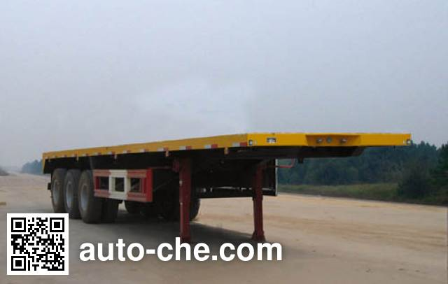 Foton Auman BJ9285NBN7B flatbed trailer