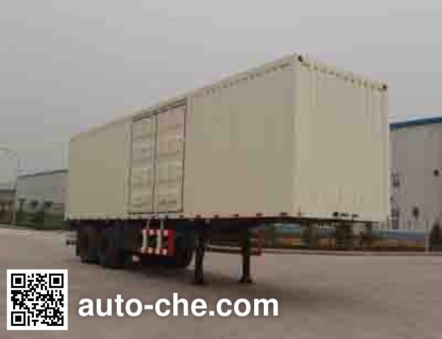 Foton Auman BJ9321N9X7K box body van trailer