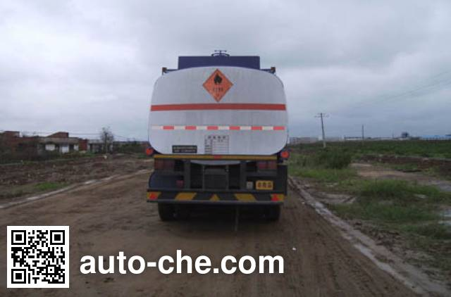Foton BJ9405NCG7B chemical liquid tank trailer