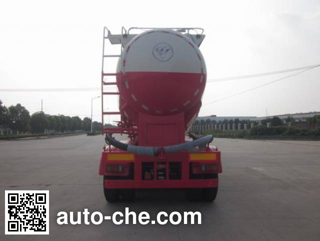 Foton BJ9408GFL low-density bulk powder transport trailer