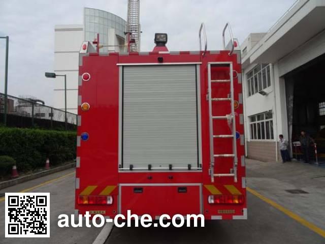 Yinhe BX5170GXFPM40/HW4 foam fire engine