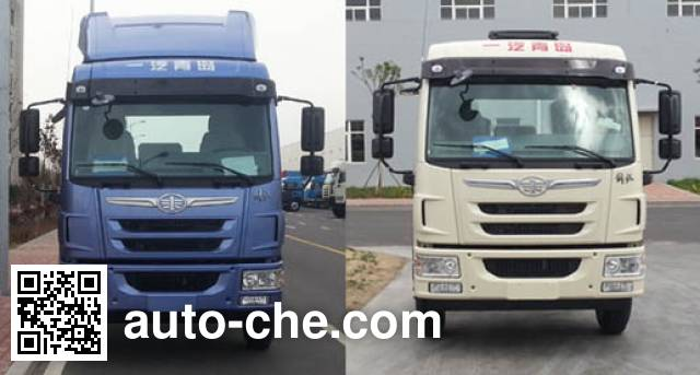 FAW Jiefang CA1180PK2BE5A80 diesel cabover truck chassis
