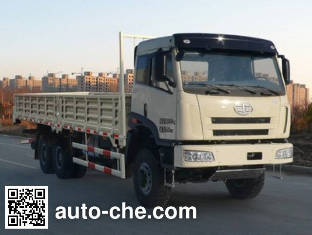 FAW Jiefang CA1252P2K2L2TA70E4 diesel 6x6 cabover cargo truck