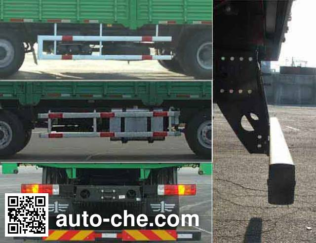 FAW Jiefang CA1313P7K1L11T4E diesel 8x4 cabover cargo truck