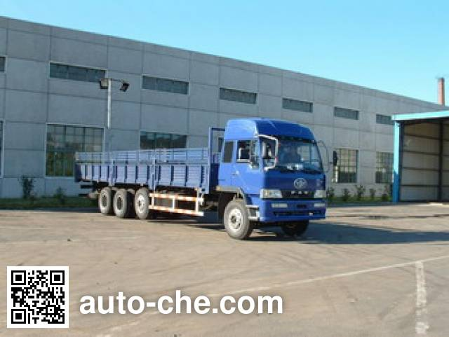 FAW Jiefang CA1320P4K2L11T6A70 cabover lifting axle cargo truck