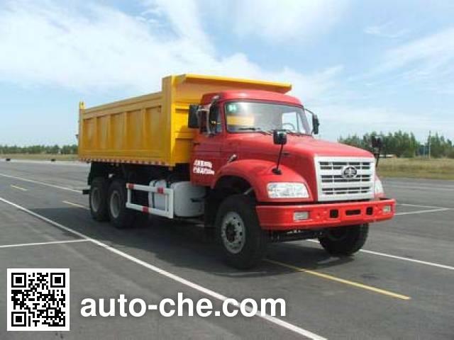 解放牌CA3250K2T1E长头柴油自卸汽车
