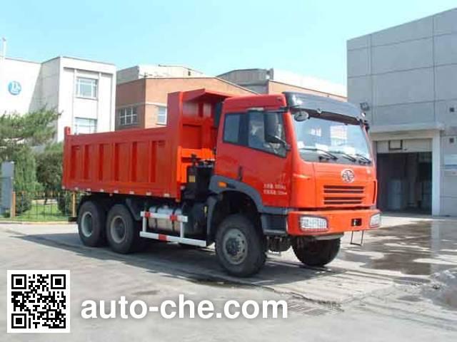 FAW Jiefang CA3250P2K2TA70E3 cabover 6x6 dump truck