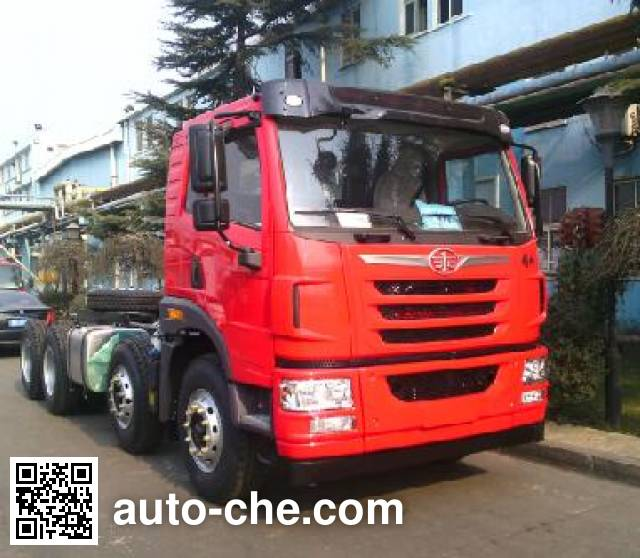 FAW Jiefang CA3310P1K2L5T4BE5A80 diesel cabover dump truck chassis