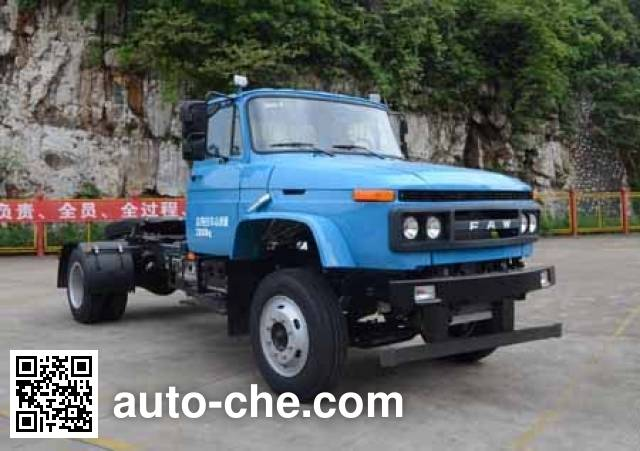 FAW Jiefang CA4141N2E5A95 natural gas tractor unit