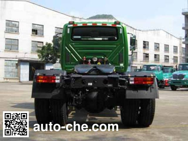 FAW Jiefang CA4182N2E5A90 natural gas tractor unit