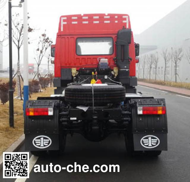 FAW Jiefang CA4183P1K15XE5A80 container carrier vehicle