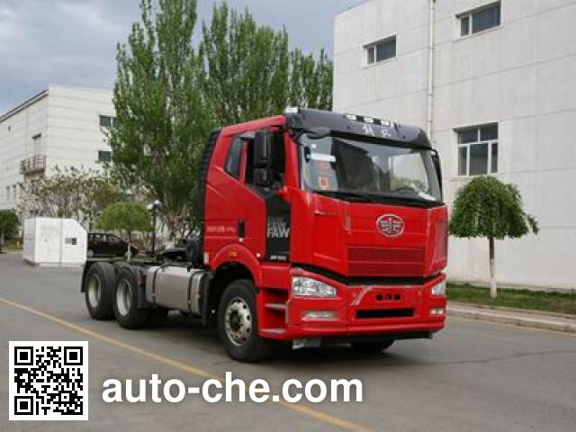 FAW Jiefang CA4250P66K2T1A1E5X container transport tractor unit