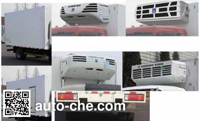 解放牌CA5041XLCP40K17L1E5A85冷藏车