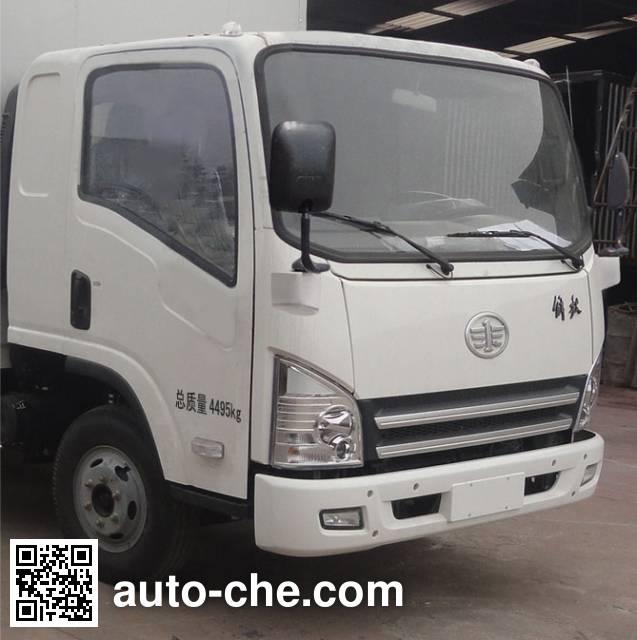 FAW Jiefang CA5045CPYP40K2L1EA85-2 soft top box van truck