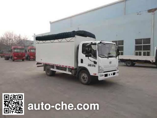 FAW Jiefang CA5083CPYP40K2L5EA84-2 soft top box van truck