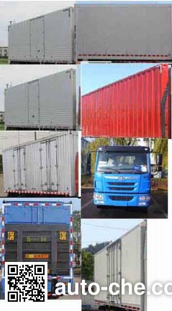 FAW Jiefang CA5110XXYPK2L2E4A80-3 box van truck