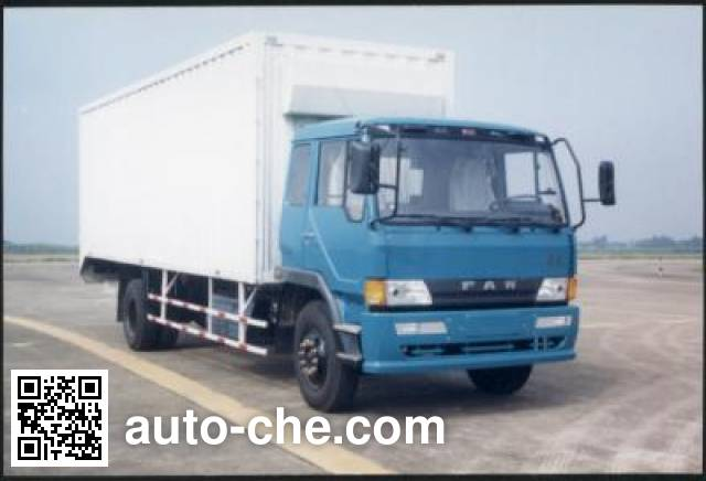 FAW Jiefang CA5136XXYL5A90 cabover box van truck