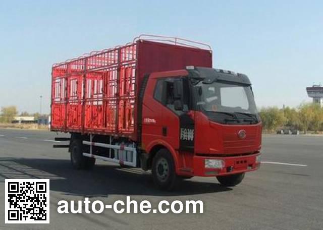 解放牌CA5160CCQP62K1L3A2E平头柴油畜禽运输汽车
