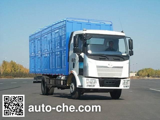 解放牌CA5160CCQP62K1L4A2E平头柴油畜禽运输汽车