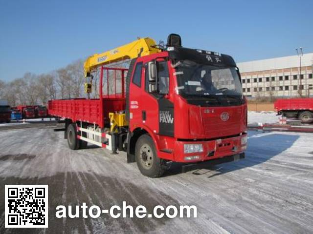 FAW Jiefang CA5160JSQP62K1L4A2E5 truck mounted loader crane