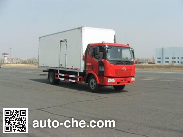 FAW Jiefang CA5160XBWP62K1L4E insulated box van truck