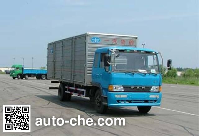 FAW Jiefang CA5166XXYP1K2L5 cabover box van truck