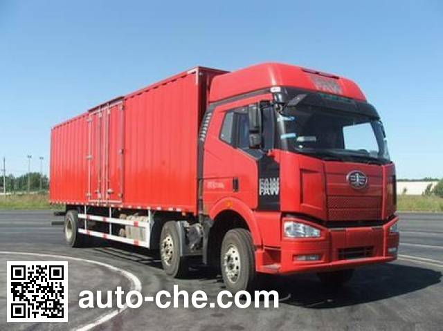 FAW Jiefang CA5250XXYP63K1L6T3A1HE diesel cabover box van truck