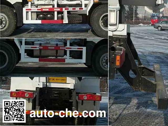 解放牌CA5250GJBP66K2L1T1E平头柴油混凝土搅拌汽车