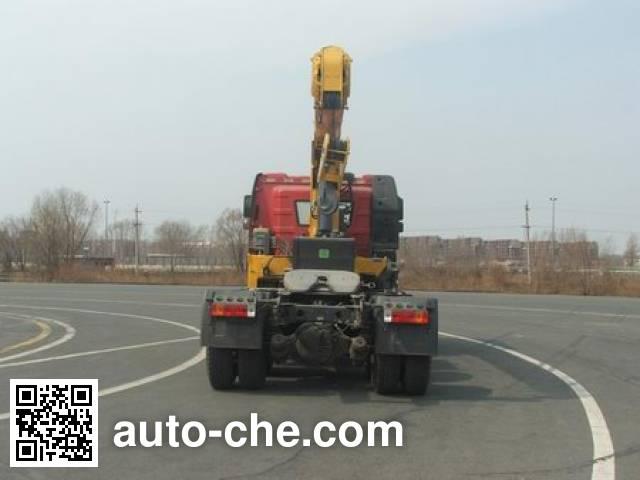 FAW Jiefang CA5250JQQP66K2L1T1A1E5 седельный тягач с краном-манипулятором (КМУ)