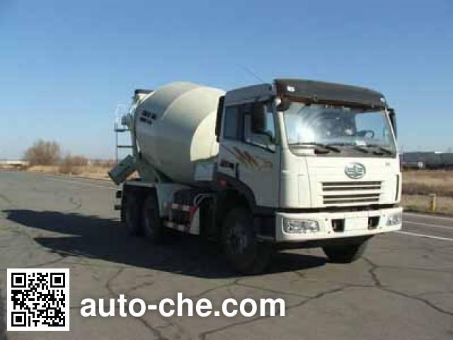 解放牌CA5252GJBP2K2T1E6×4平头混凝土搅拌运输车