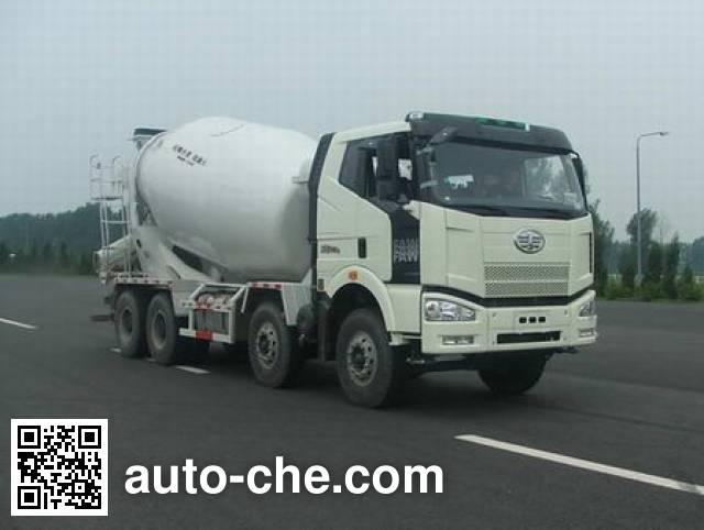 解放牌CA5310GJBP66K2T4E平头柴油混凝土搅拌运输车