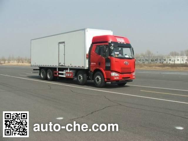 FAW Jiefang CA5310XBWP63K2L6T4E4 insulated box van truck