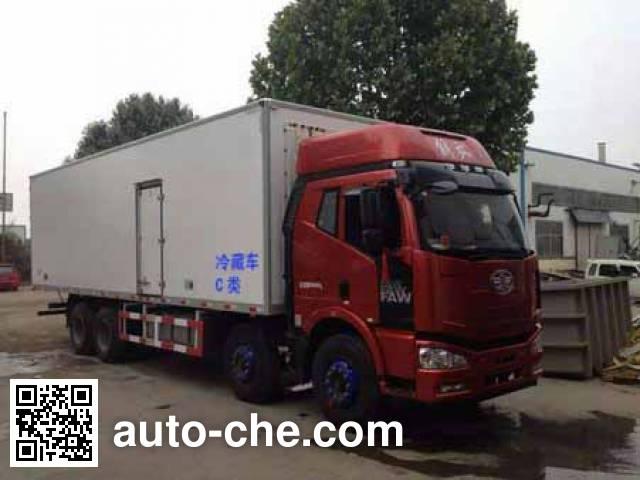 解放牌CA5310XLCP66K2L7T4E5冷藏车